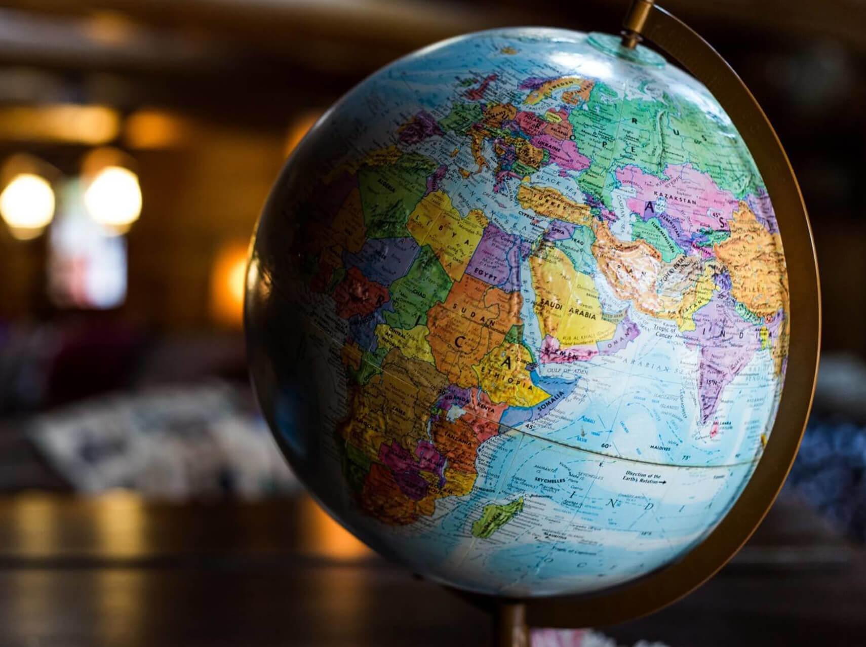 180 países alrededor del mundo