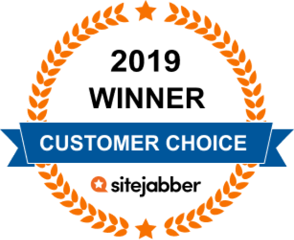 2019 customer choice award sitejabber