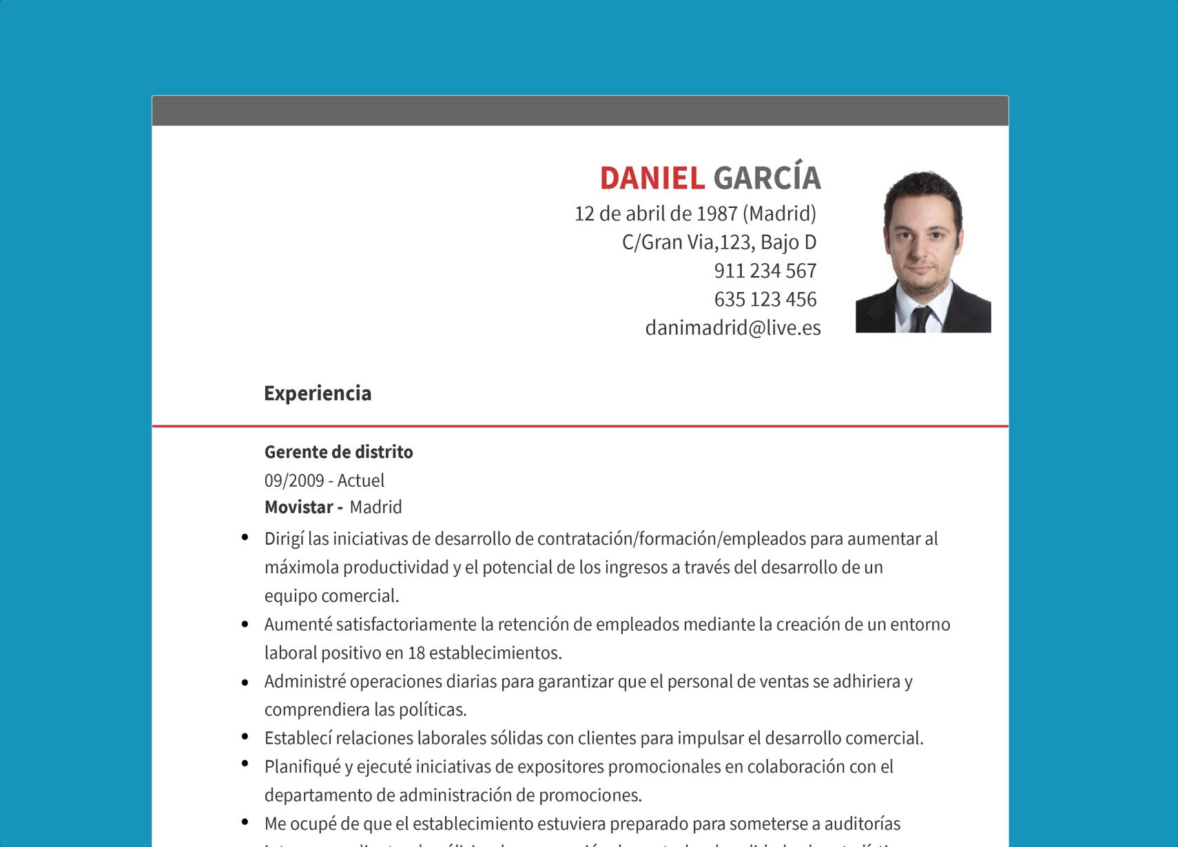 Asesoramiento profesional para hacer tu CV