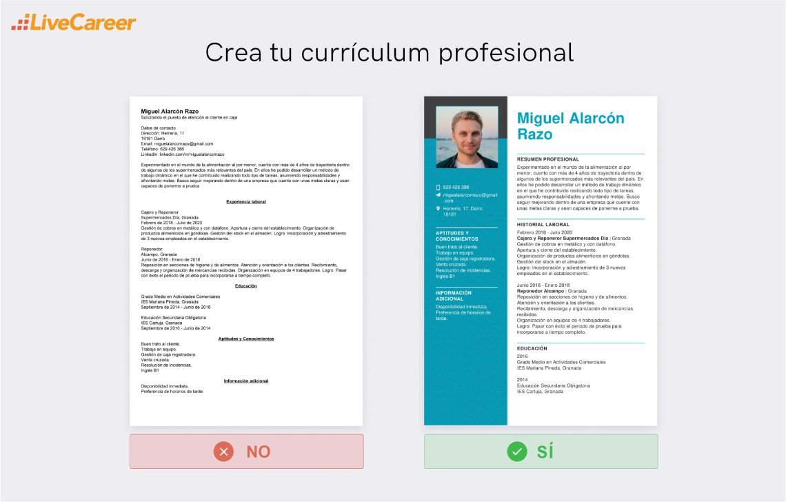 currículum a Carrefour