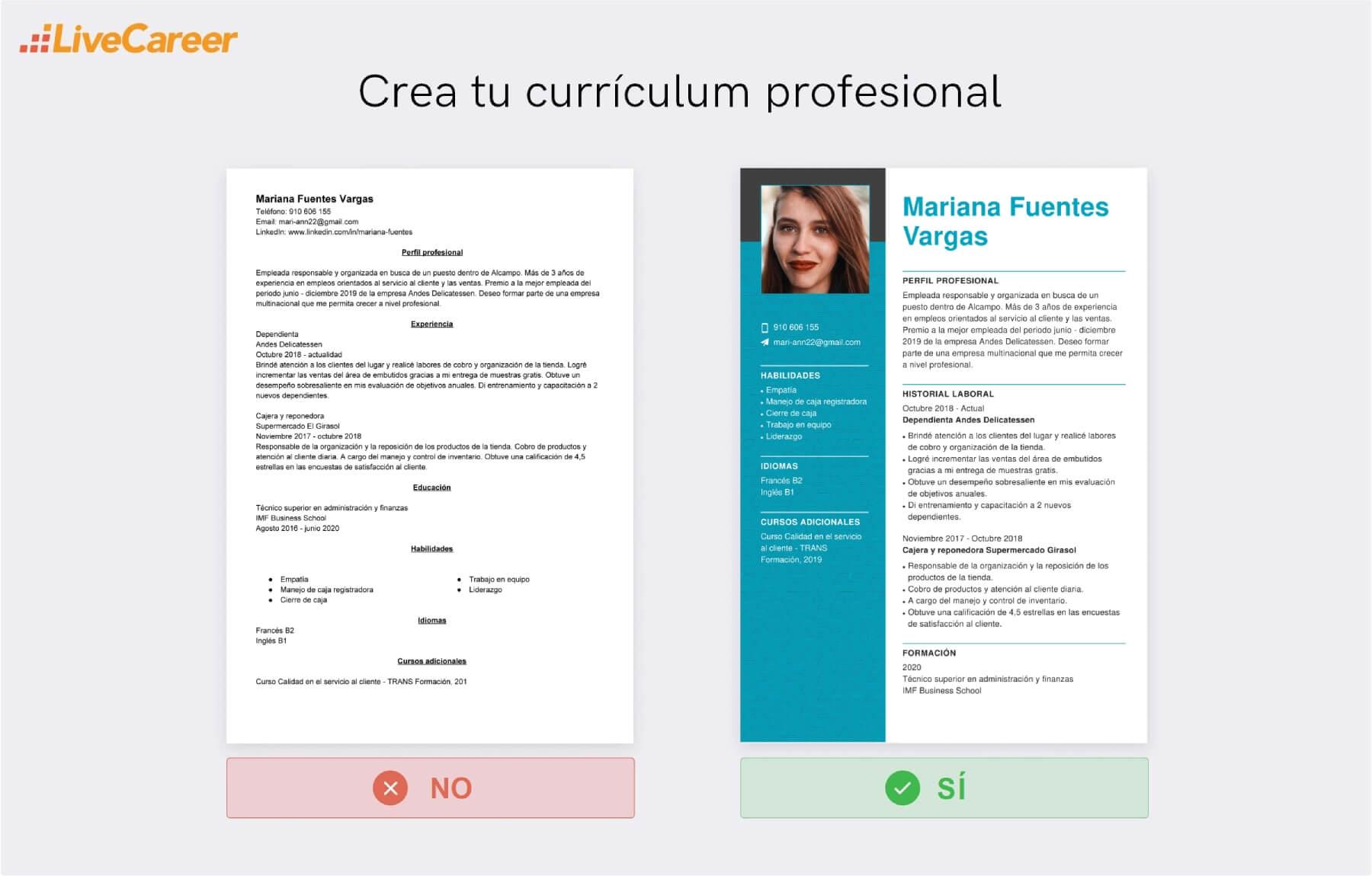 Currículum a Alcampo