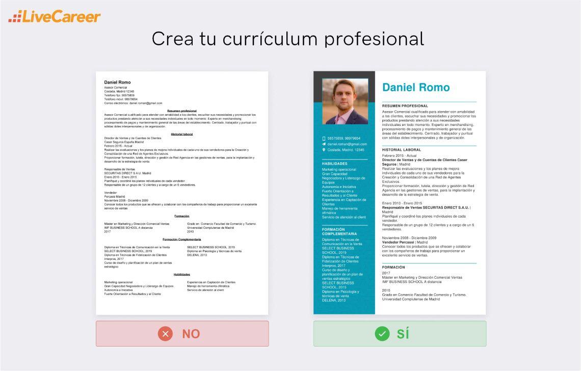 CV Comercial