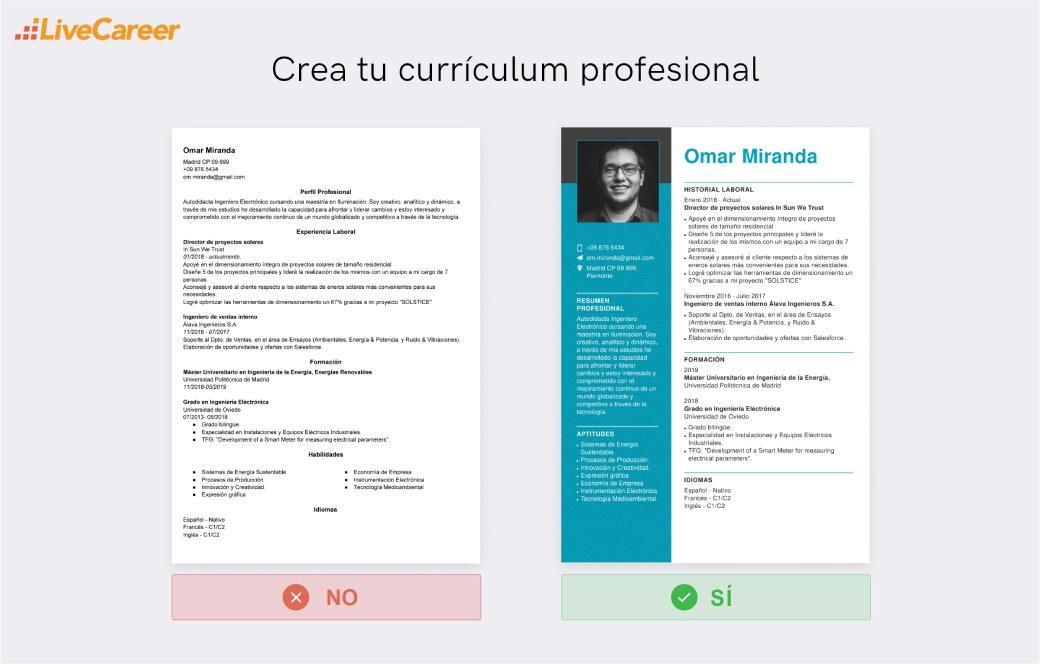 editor de curriculum