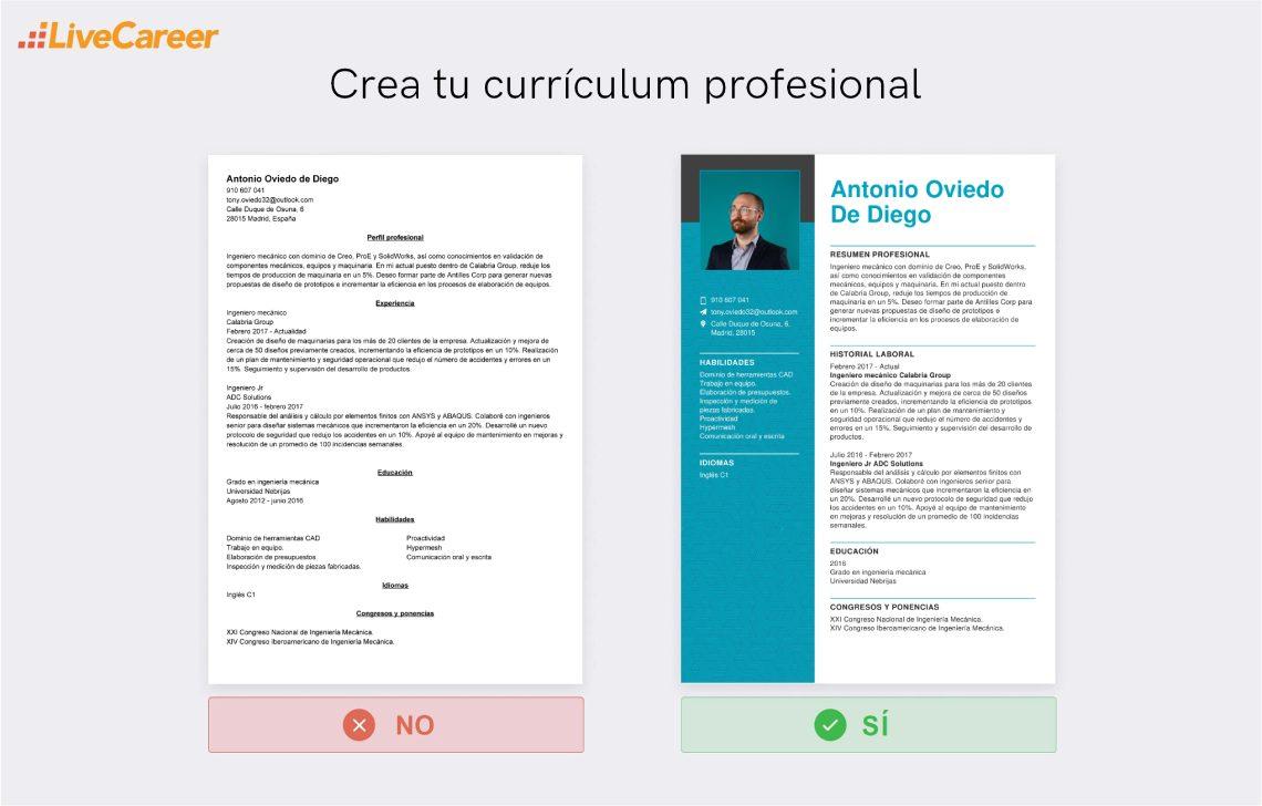 Currículum de Ingeniero
