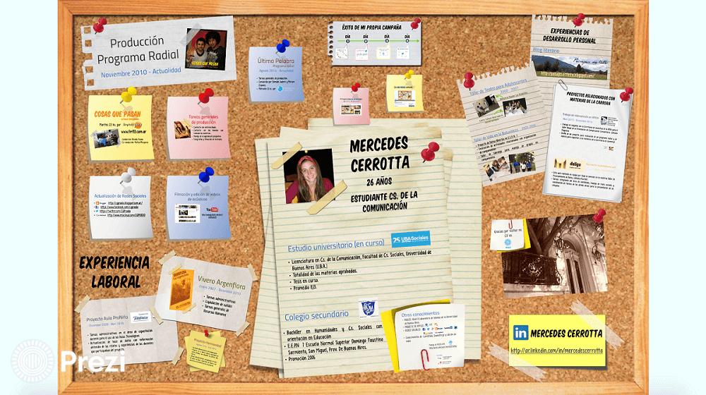 curriculum interactivo