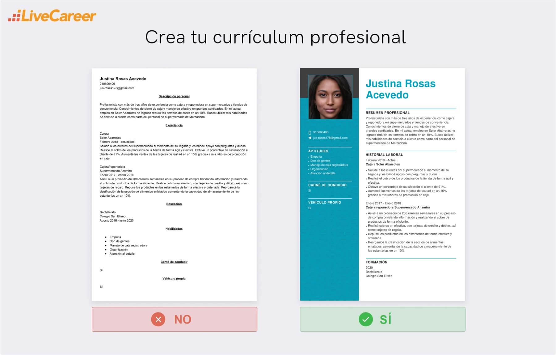 Currículum a Mercadona