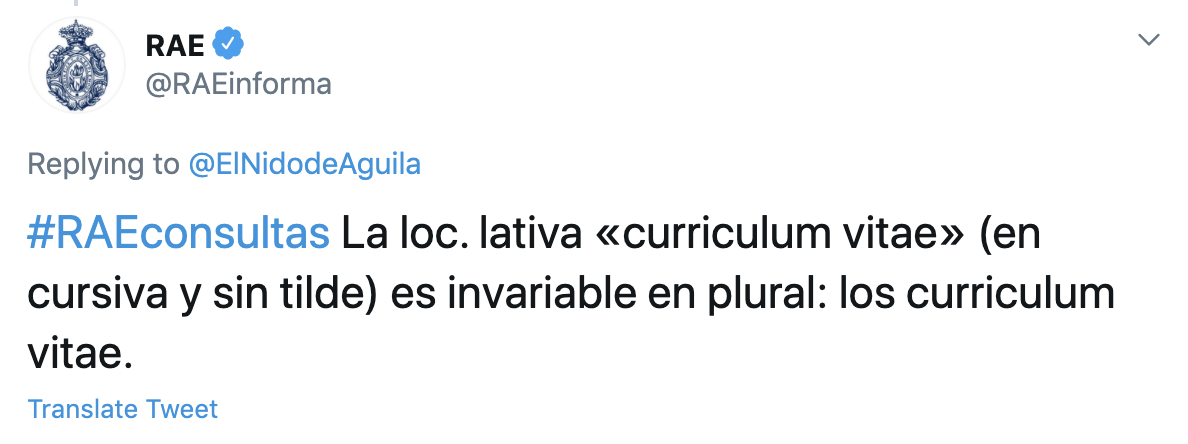 curriculum o curriculo