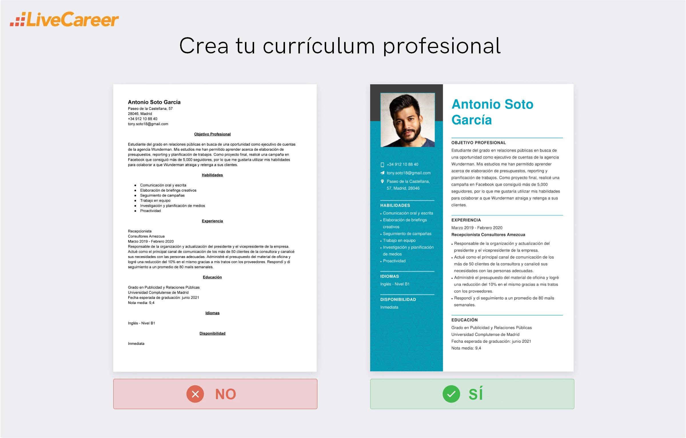 Cómo Hacer Una Currículum Sin Experiencia Guía Y Plantillas
