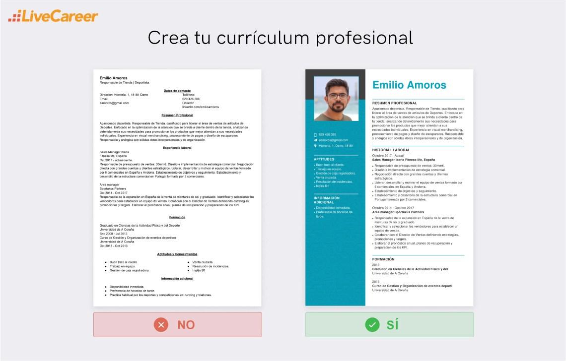 Currículum para Decathlon