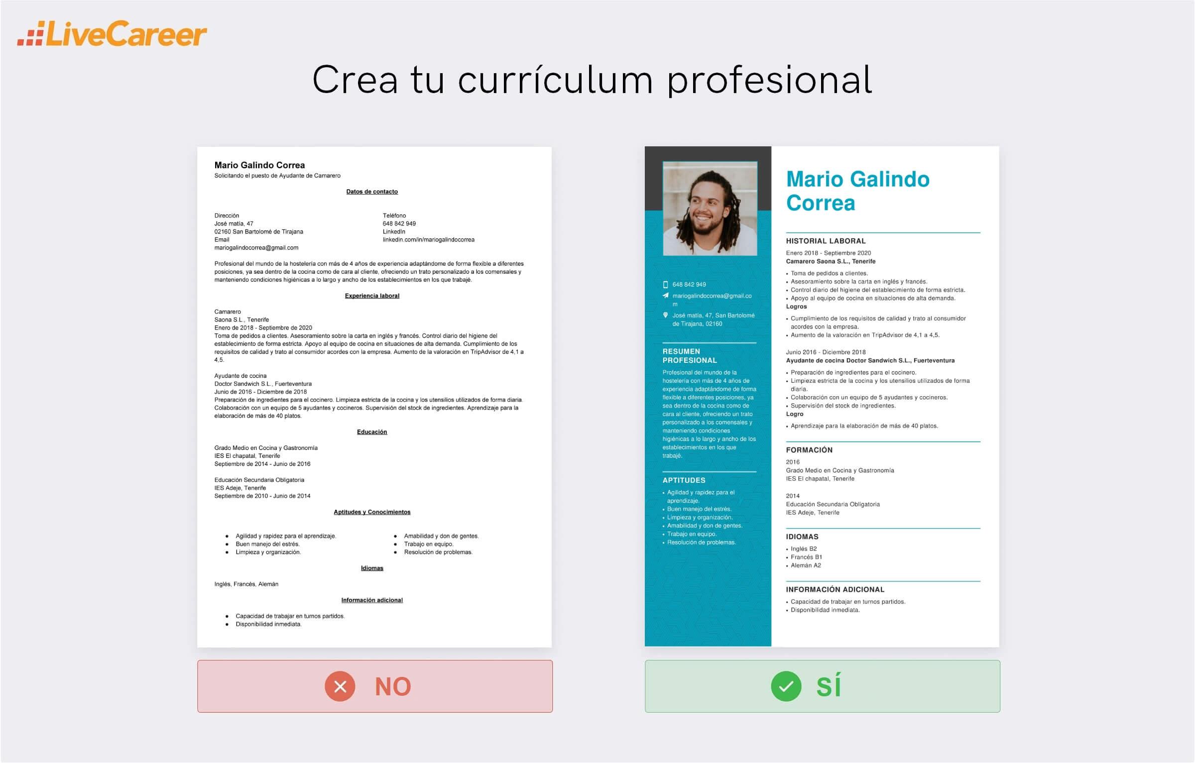 currículum a Lopesan