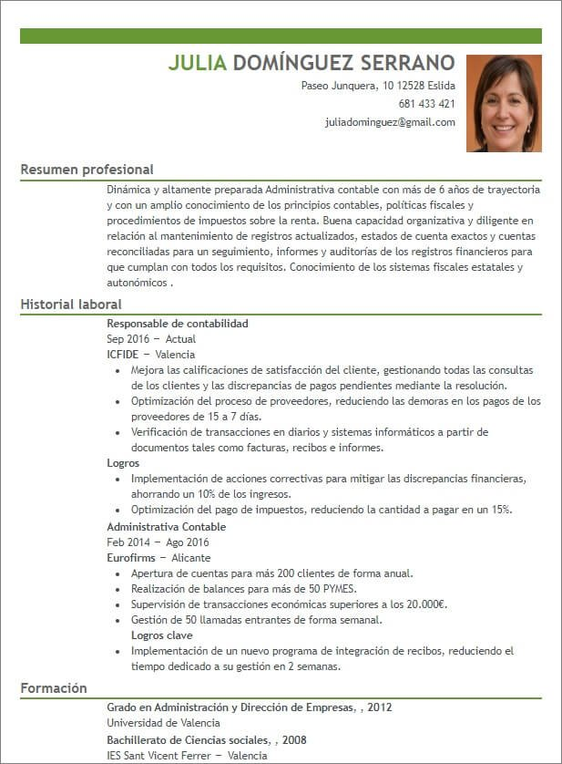 plantillas curriculum originales