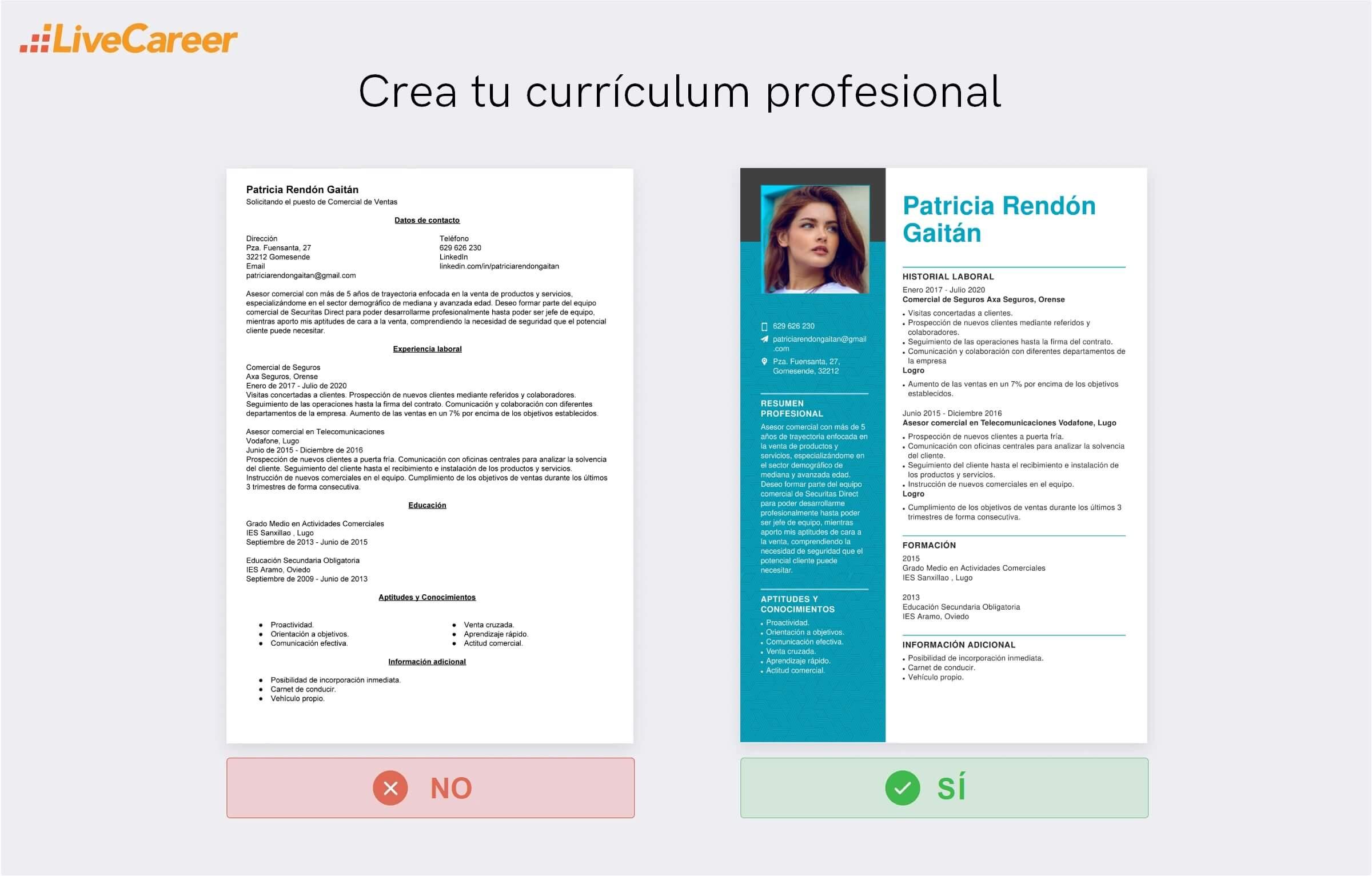 currículum a Securitas